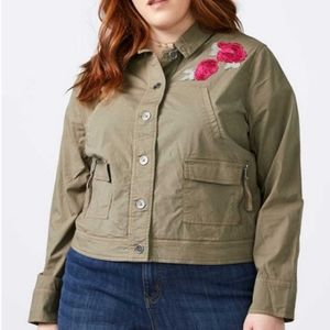 Penningtons Floral Embroidered Light Jacket